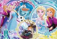 """Зимно приятелство - Пъзел от серията """"Замръзналото кралство"""" - пъзел"""