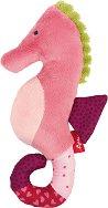 Морско конче - Мека бебешка играчка с дрънкалка -