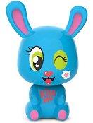 """Зайчето Миси - Интерактивна играчка от серията """"Lumiluvs: Светещи животни"""" - играчка"""