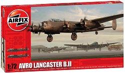 Британски бомбардировач - Avro Lancaster BII - Сглобяем авиомодел -