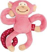 Маймунка - Мека бебешка играчка -