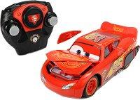 """Блъскаща се кола - МакКуин Светкавицата - Детска играчка с дистанционно управление от серията """"Колите"""" - количка"""