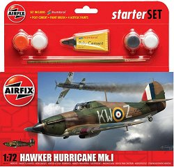 Бритенски военен самолет -  Hawker Hurricane MkI -
