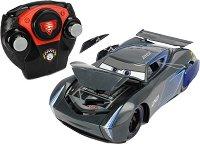 """Блъскаща се кола - Джаксън Сторм - Детска играчка с дистанционно управление от серията """"Колите"""" - играчка"""