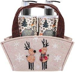 Vivian Gray Natural Christmas - Подаръчен комплект с козметика за ръце -