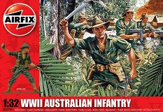 Австралийски пехотинци - Комплект от 14 фигури -