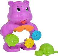"""Хипопотам - Бебешка играчка за баня от серията """"ABC"""" -"""