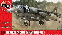 Британски изтребител - Hawker Siddeley Harrier GR1 - Сглобяем авиомодел -