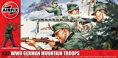 Германска планинска войска - Комплект от 20 фигури - макет