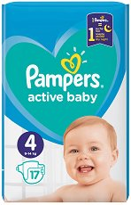 Pampers Active Baby 4 - продукт