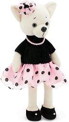 """Кученцето Лъки Лили - Перла - Плюшена играчка от серията """"Lucky Doggy"""" -"""