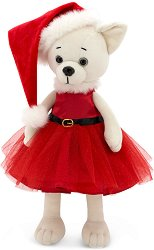 """Кученцето Лили - Коледа - Плюшена играчка от серията """"Lucky Doggy"""" -"""