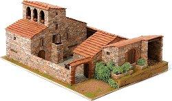 Къща Рустика в средиземноморски стил - Сглобяем модел от истински тухлички -