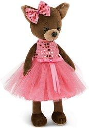 """Кученцето Кики - Розов блясък - Плюшена играчка от серията """"Lucky Doggy"""" - играчка"""
