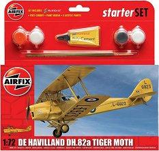 Британски самолет - De Havilland DH.82a Tiger Moth -