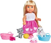 Еви Лав с домашни любимци - играчка