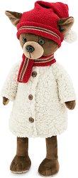 """Кученцето Кики - Зимни истории - Плюшена играчка от серията """"Lucky Doggy"""" -"""