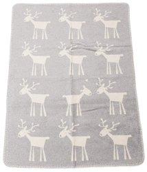 """Бебешко одеяло - Еленче - Размер 75 x 100 cm от серия """"Panda"""" -"""