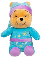 Мечо Пух с пижама - Плюшена играчка с фосфоресциращ ефект -
