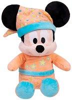 Мики Маус с пижама - Плюшена играчка с фосфоресциращ ефект - продукт