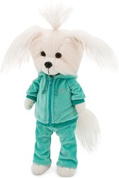 """Кученцето Мими - Фитнес - Плюшена играчка от серията """"Lucky Doggy"""" -"""