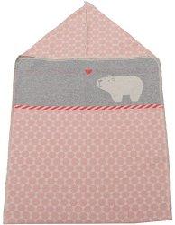 """Бебешко одеяло за изписване - Полярно мече - Размери 45 x 76 cm от серия """"Juwel"""" - продукт"""
