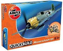Германски самолет - Messerschmitt Bf109e  - Детски конструктор -