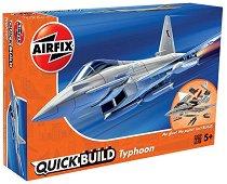 Британски изтребител - Eurofighter Typhoon - Детски конструктор -