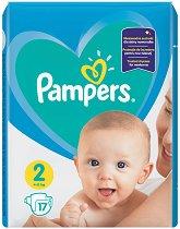 Pampers 2 - Пелени за еднократна употреба за бебета с тегло от 4 до 8 kg - продукт
