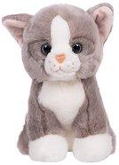 Сиво котенце - Плюшена играчка -