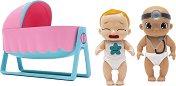 Baby Secrets - Комплект от 3 бебета - Играчка изненада с аксесоари -