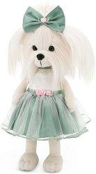 """Кученцето Мими - Зелено - Плюшена играчка от серията """"Lucky Doggy"""" -"""