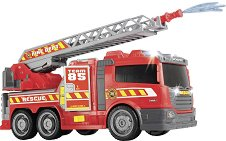 """Пожарен камион с водна помпа - Детска играчка със звукови и светлинни ефекти от серията """"Action"""" -"""
