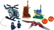 """Бягство от Птеранодон - Детски конструктор от серията """"LEGO: Juniors - Jurassic World"""" - играчка"""