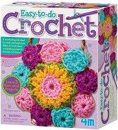 """Плети сама на една кука - Творчески комплект от серията """"Knitting & Sewing"""" - играчка"""