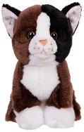 Черно сиво котенце - играчка