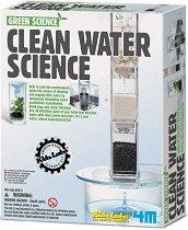 """Станция за пречистване на вода - Детски образователен комплект от серията """"Kidz Labs"""" - творчески комплект"""