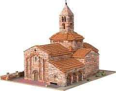 Църква St. Maria d'Egara - Сглобяем модел от истински тухлички -