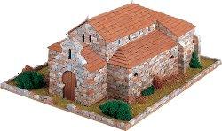 Църква St. Juan de Banos - Сглобяем модел от истински тухлички -