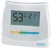 Дигитален стаен термометър с хигрометър - 2 в 1 - Модел V70 -