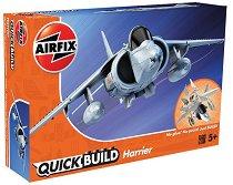 Британски изтребител - Harrier - Детски конструктор - играчка