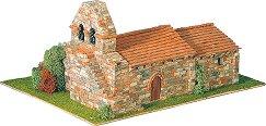 Църква Arenillas de Ebro - Сглобяем модел от истински тухлички -