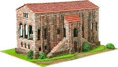 Църква St. Maria de Naranco - Сглобяем модел от истински тухлички -