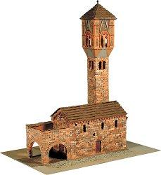 Църква St. Maria Magdalena - Сглобяем модел от истински тухлички -