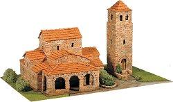 Църква St. Maria de Lebena - Сглобяем модел от истински тухлички -