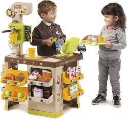 Кафе - сладкарница - Детски комплект за игра с аксесоари -