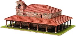 Църква St. Adriana de Argineta - Сглобяем модел от истински тухлички -