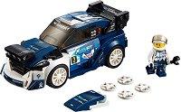 """Спортен автомобил - Ford Fiesta M-Sport WRC - Детски конструктор от серията """"LEGO: Speed Champions"""" - играчка"""
