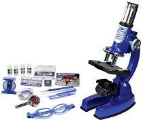 Микроскоп - Детски изследователски комплект - играчка