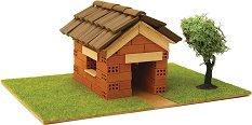 """Къща - Детски сглобяем модел от истински тухлички от серията """"K.I.D."""" - макет"""